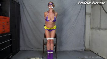 Captive Chrissy Marie – Batgirl Tricked Into Bondage HD