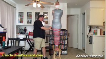 Cinched and Secured – Dakkota's Suspended Mummification Blues