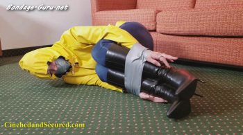 Cinched and Secured – Rachel's Self Hogtie