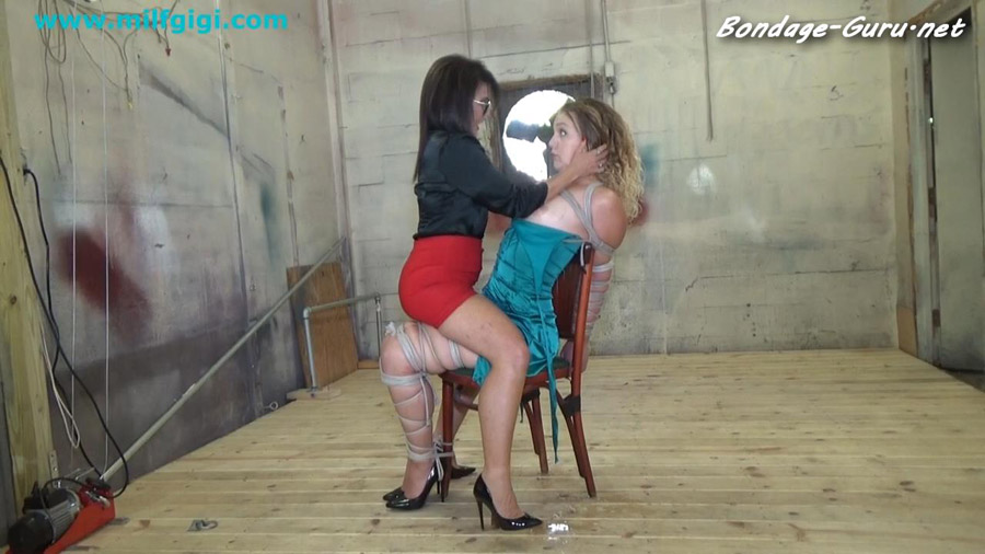 19 YEAR OLD FORCED TO BE LESBIAN BONDAGE TOY