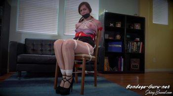 ShinyBound Productions – Shelby Paris – Taken Down and Chairtied