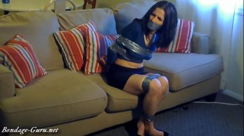 Tied And Taped Presents GLIB – Hannah Perez Tape Tied