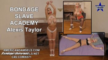 AMERICAN DAMSELS by Jon Woods – Bondage Slave Academy – The Complete Story – Alexis Taylor