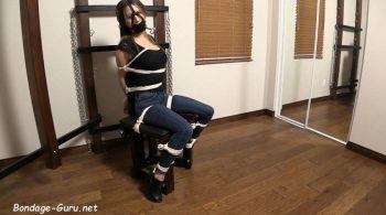 Chrissy Marie – Bondage Chair – Keye Bondage Images