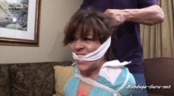 Annabelle Genovisi – Don't tell my boss you have the hotel maid tied up, gagged and cumming in her panties – Girl Next Door Bondage