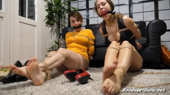 Layla Bondage Addiction – Foot Games – Ivyblonde – Layla