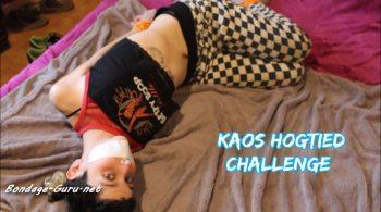 RECatadas Studio – Kaos's Hogtied Challenge!