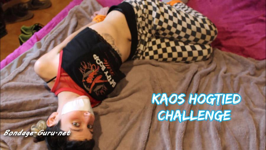 Kaoss Hogtied Challenge