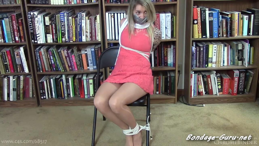 Anna Pink Chair Tie