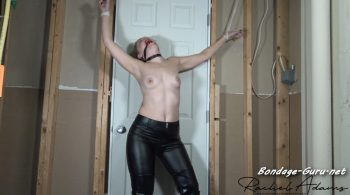 Rachel Adams Fantasies – dominatrix tricked and tied spread eagle