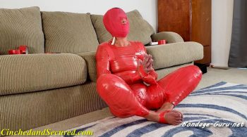 Yoga Babe Mummified! – Cinched and Secured – Dakkota Grey