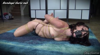 Ashley Wolf.. Topless Bound Orgasms – ShinyBound Productions