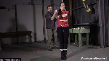 Bondage: JJ Plush, Born to be Bound – Down a model