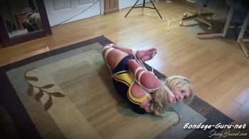 Katie Thornton – Hogtied In Her Swimsuit – ShinyBound Productions