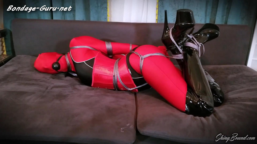 Nyxon Living Doll Hogtied and Fondled