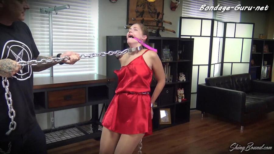 Rachel Adams Brutal Metal Slave Training Part 2