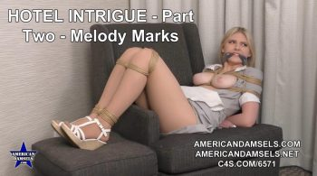 Hotel Intrigue – Part Two – Melody Marks – AMERICAN DAMSELS by Jon Woods