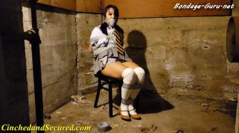 Cinched and Secured – Katana – Basement Bound Babe