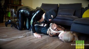 Nyxons Bondage Files – Constance Domme Ambushed & Robbed HD