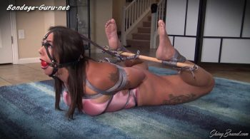 ShinyBound Productions – Miss Demeanor.. Swimsuit Hogtie