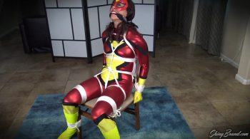 ShinyBound Productions – Tomiko.. Spiderwoman Chairtied