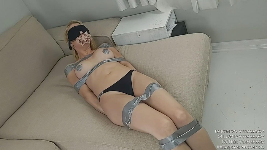 VieraMayXXX I Get Taped Up And Fucked By An Intruder