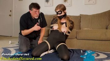 Cinched and Secured – Catburglar Candace is Kept Cumming