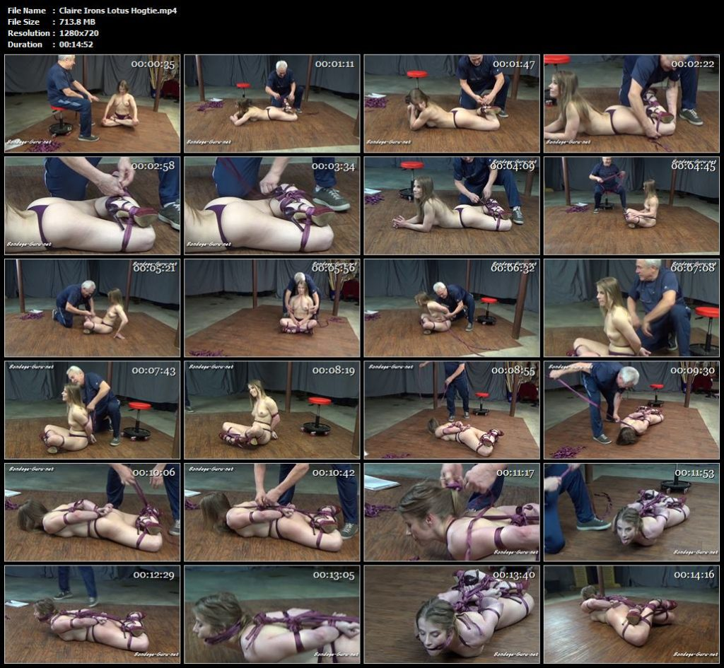 Claire Irons Lotus Hogtie.mp4