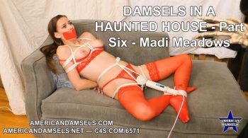 Damsels In A Haunted House – Part Six – Madi Meadows – AMERICAN DAMSELS by Jon Woods
