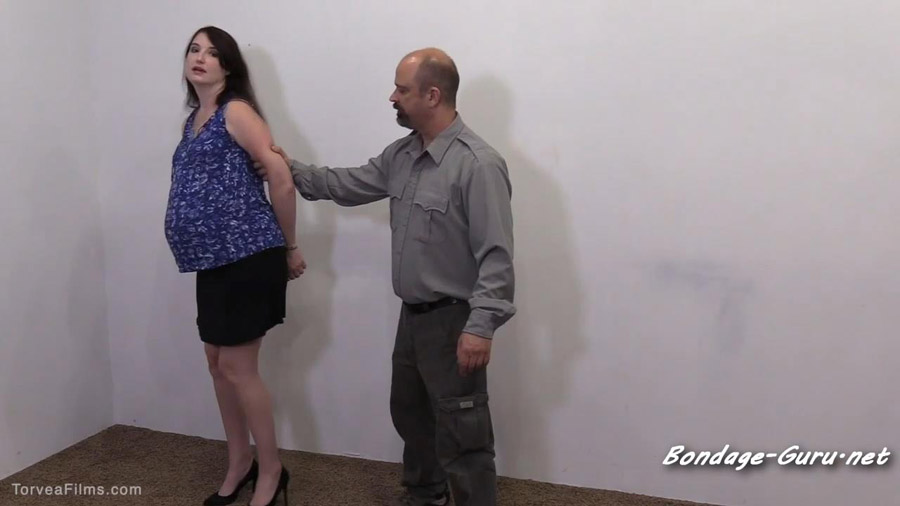Handcuffed Jail Booking Paige Turner