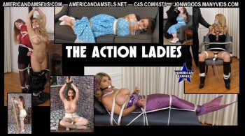 AMERICAN DAMSELS by Jon Woods – The Action Ladies – The Complete Video