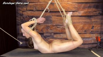 Elise Graves Bondage Liberation – Bend Over Backwards – Elise Graves and Utmost Restraint – Elise is Tied in an Intense Back Arch to be Caned, Clamped and Vibrated to Multiple Orgasms!