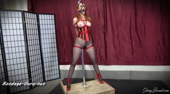 ShinyBound Productions – Kendra James- Pole Tied Predicament