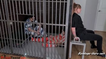 BoundLive, Prison Teens – Amanda and Persephone Arrested Part 3