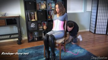 ShinyBound Productions – Karly Salinas – Robber Chairtied and Tapegagged