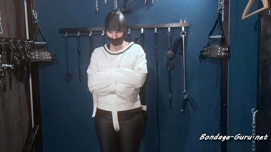 Beaten in a straitjacket