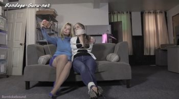 Bondage: JJ Plush, Born to be Bound – You should have cuffed me tighter Rachel!