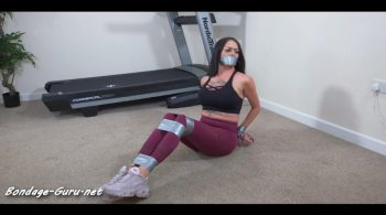 Sensual Sin – Kat and the magic bondage treadmill