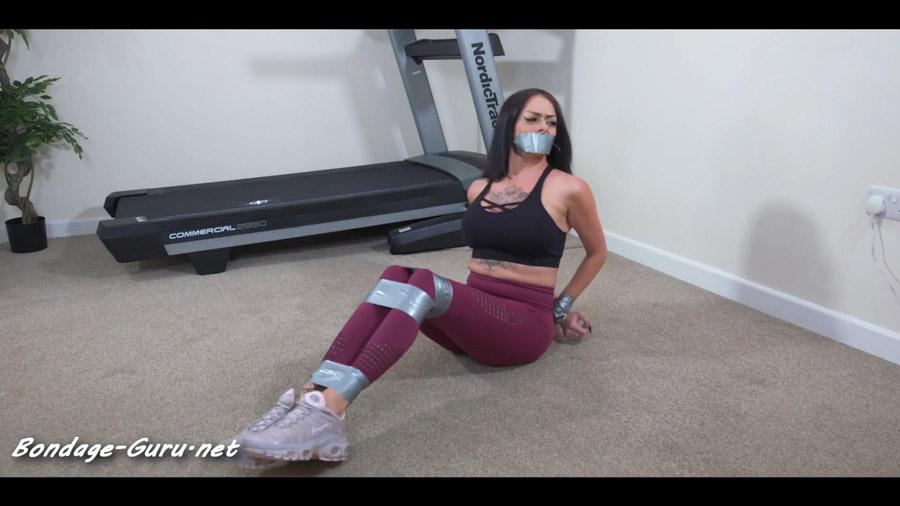 Kat and the magic bondage treadmill