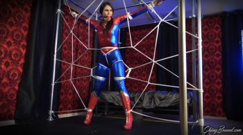 ShinyBound Productions – Ashley Wolf- Spidergirl Caught in Her Web